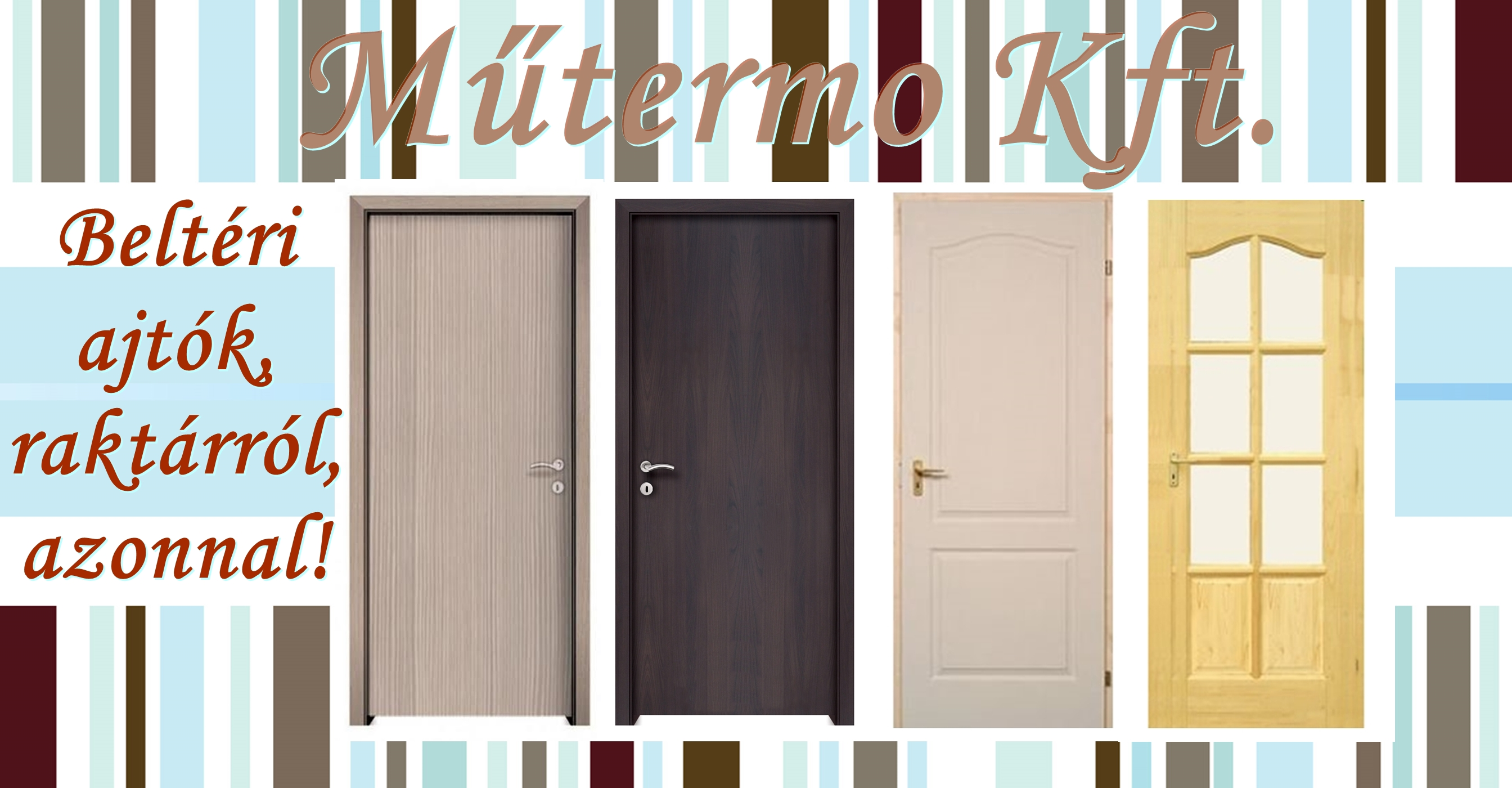 Beltéri ajtók típusai